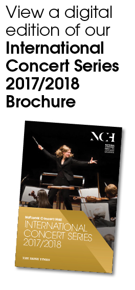 International Concert Series 2017/2018 Brochure