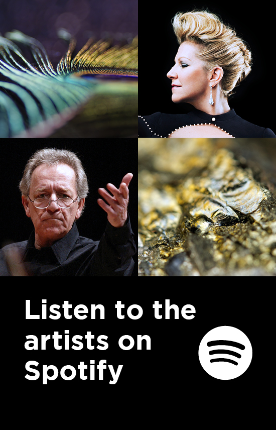 Listen to the artists on Spotify