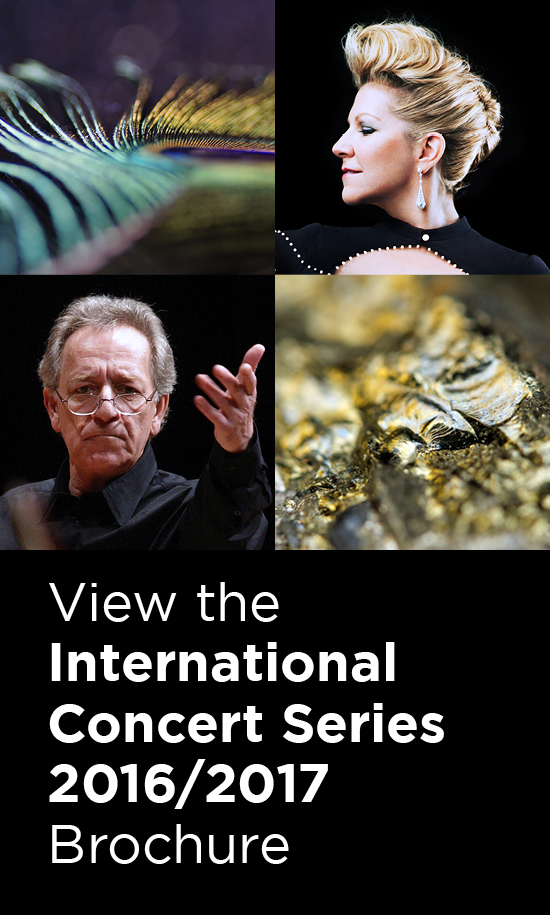 View the International Concert Series 16/17 Brochure